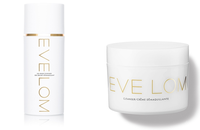 Eve Lom's Gel Balm Cleanser and the original balm Cleanser.