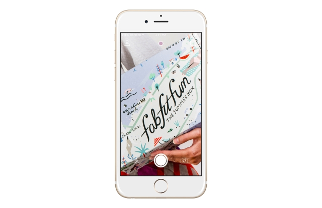 FabFitFun's first mobile product is an augmented reality app.