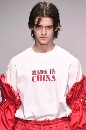 Feng Chen Wang Men's Spring 2018