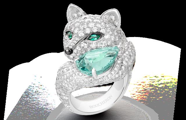 Boucheron's Foxy ring.