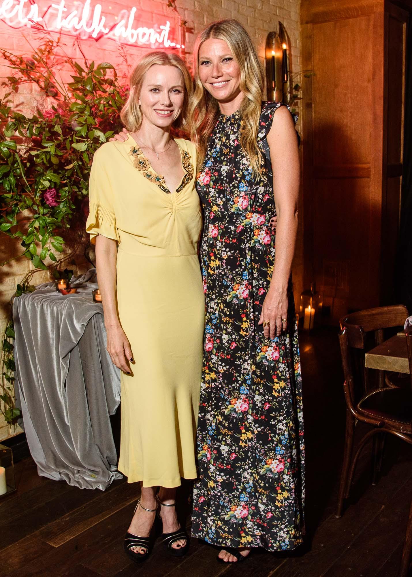 Naomi Watts andGwyneth Paltrow