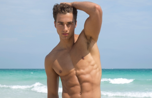 A look from Parke & Ronen's 20th anniversary collection.