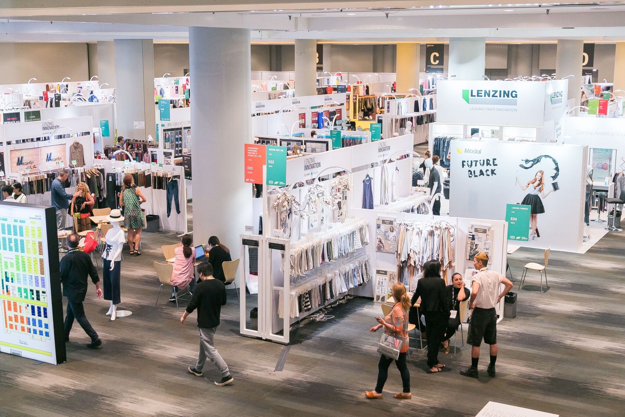 Texworld returns to New York for its 2018 winter edition.