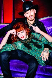 The Anna Sui x INC International Concepts campaign.