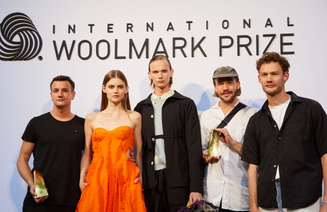 International Woolmark Prize's European Finalists David Laport and L'Homme Rouge.