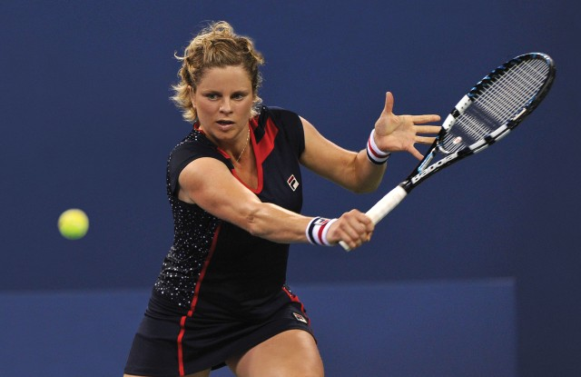 Fila will be releasing a special collection in Kim Clijsters' honor.