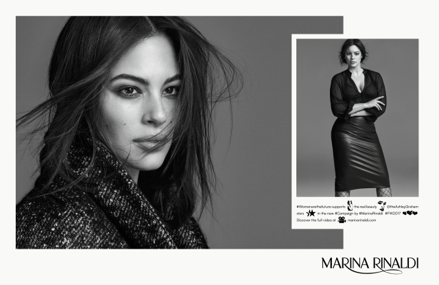 Ashley Graham for Marina Rinaldi