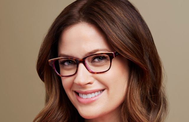A look from Liz Claiborne eyewear collection