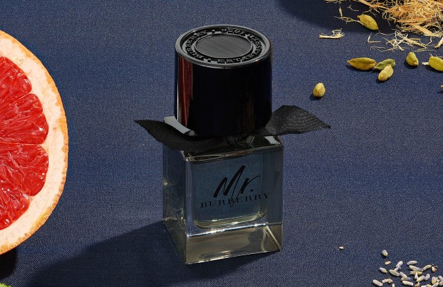 The Mr. Burberry fragrance.