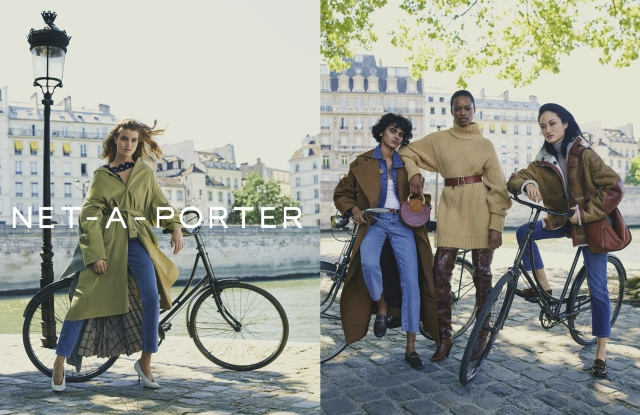 Visuals from Net-a-porter's fall 2017 campaign