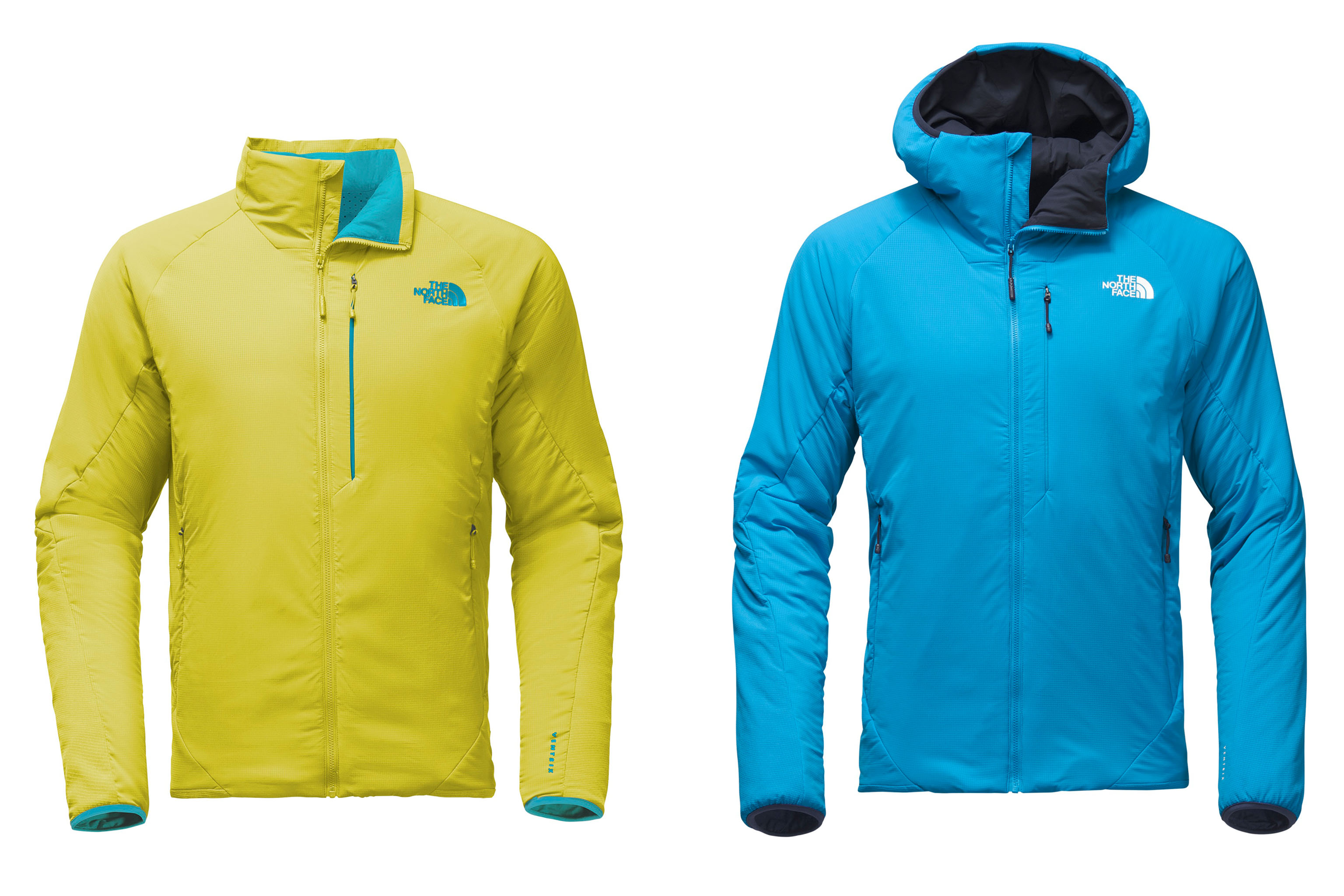 Looks from The North Face's Ventrix line.