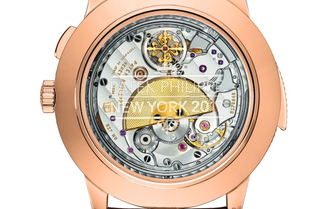 A Patek Philippe Grand Exhibition special edition watch.