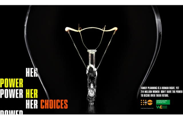 Benetton's Power Her Choices campaign
