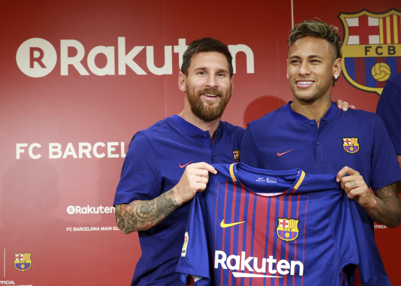 FC Barcelona Rakuten Tokyo Messi Neymar