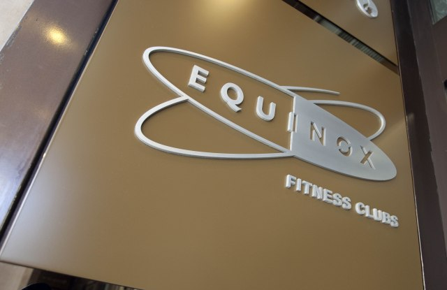 Equinox gym, Kensington High Street, London, England, BritainLondon, Britain - 2012