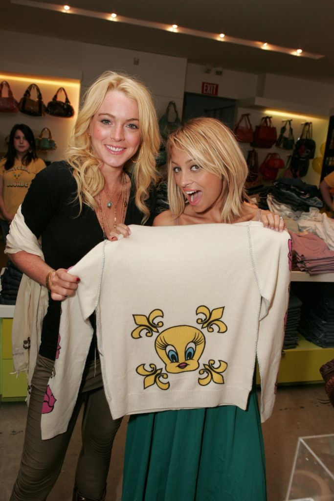 Lindsay Lohan Nicole Richie Kitson
