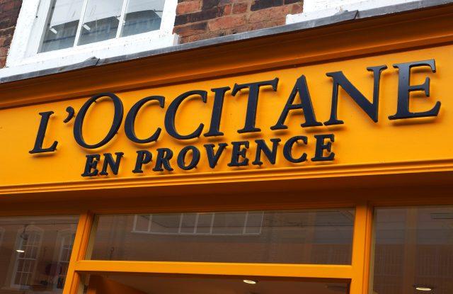 Loccitane street shop logo