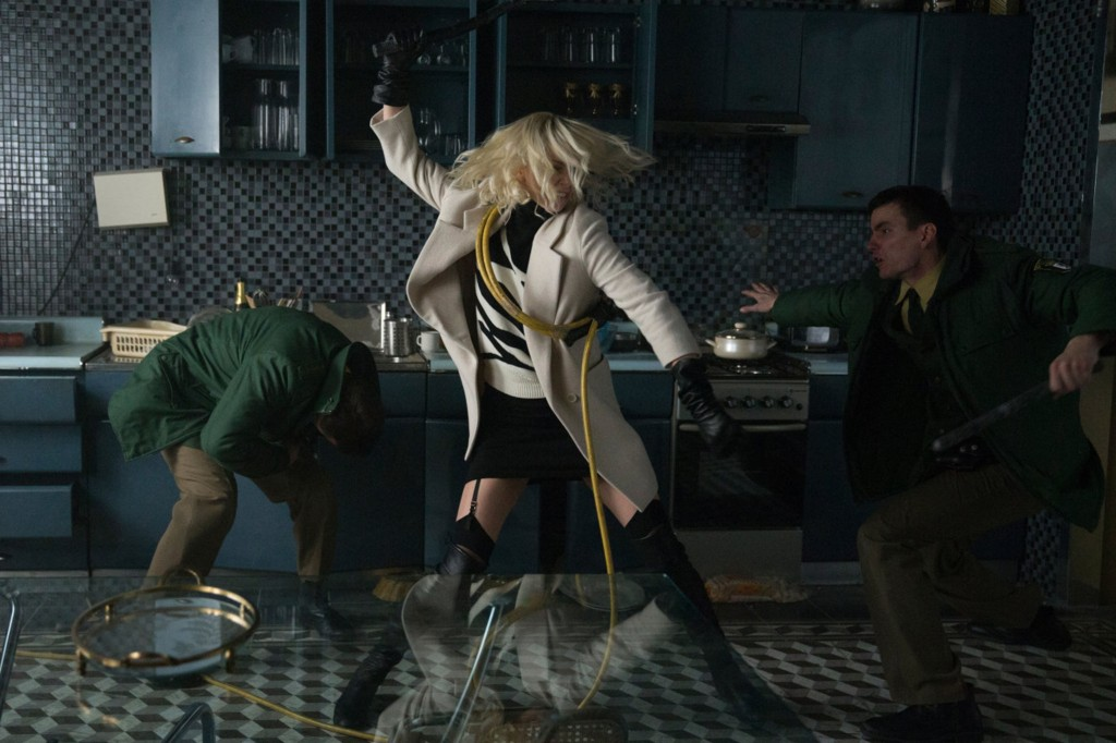 No Merchandising. Editorial Use Only. No Book Cover UsageMandatory Credit: Photo by Moviestore/REX/Shutterstock (8852517d) Charlize Theron Atomic Blonde - 2017