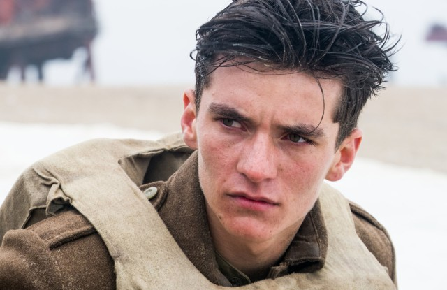 No Merchandising. Editorial Use Only. No Book Cover UsageMandatory Credit: Photo by Moviestore/REX/Shutterstock (8852520d)Fionn WhiteheadDunkirk - 2017