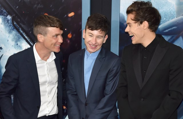 Cillian Murphy, Barry Keoghan and Harry Styles'Dunkirk' film premiere, Arrivals, New York, USA - 18 Jul 2017