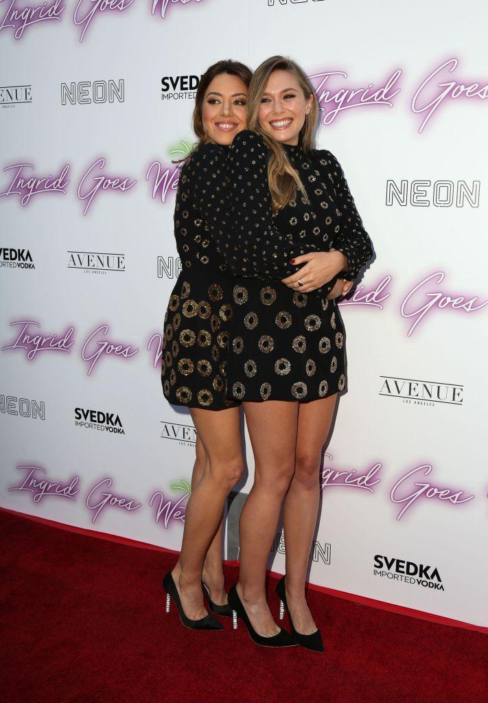 Aubrey Plaza, Elizabeth Olsen'Ingrid Goes West' film premiere, Los Angeles, USA - 27 Jul 2017