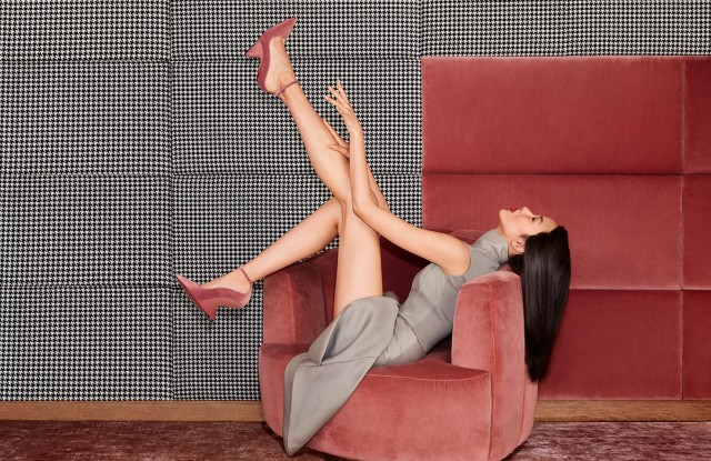 Fall ads for Salvatore Ferragamo