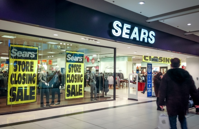 Forty additional Sears stores are set to close in February 2019.