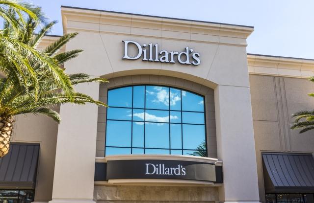 A Dillard's store.