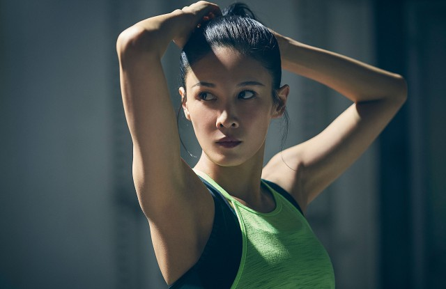 """Under Armour's """"Unlike Any"""" campaign featuring Zoe Zhang."""