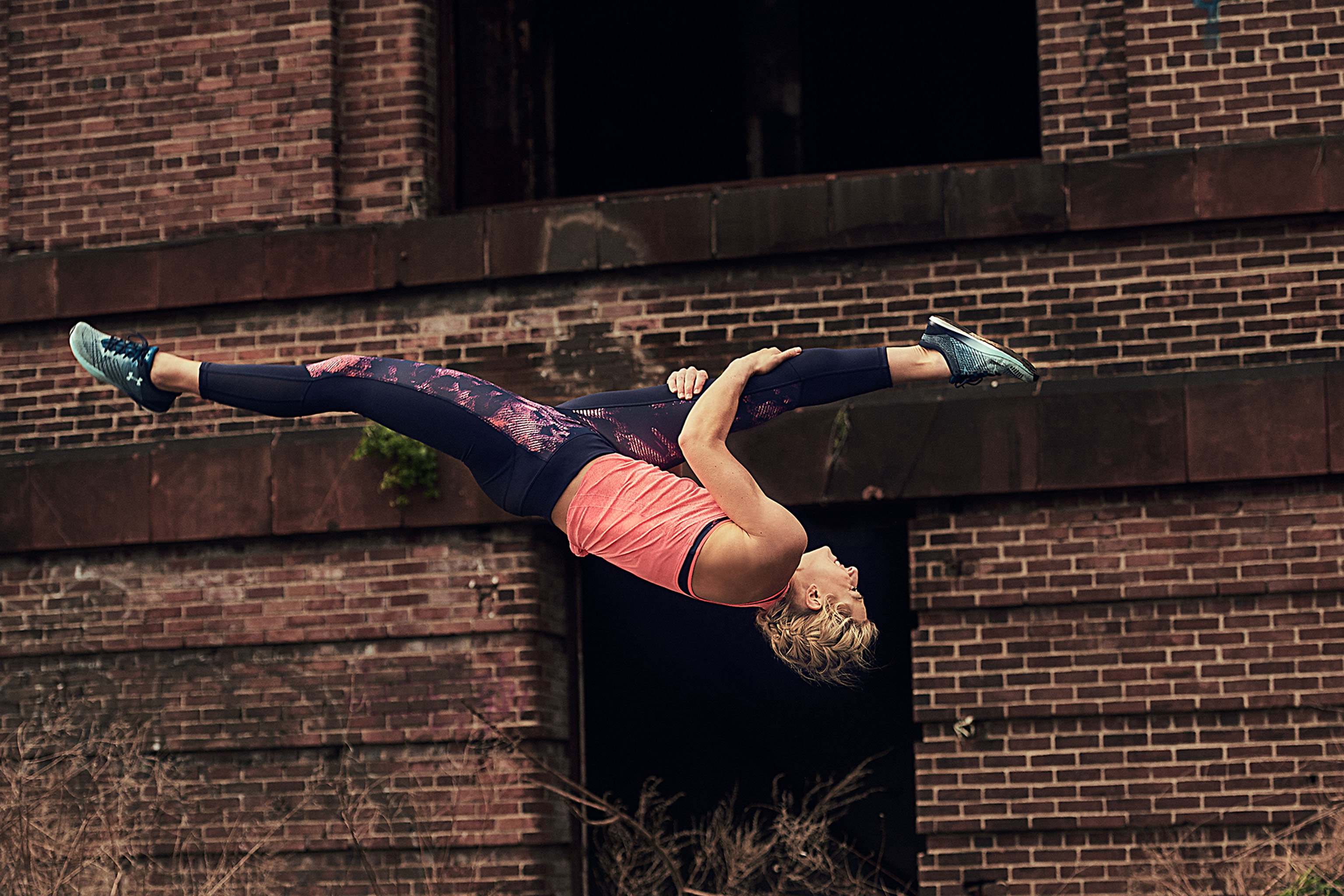 """Under Armour's """"Unlike Any"""" campaign featuring  Jessie Graff."""