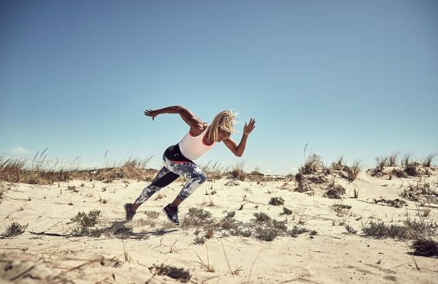 """Under Armour's """"Unlike Any"""" campaign featuring  Natasha Hastings."""