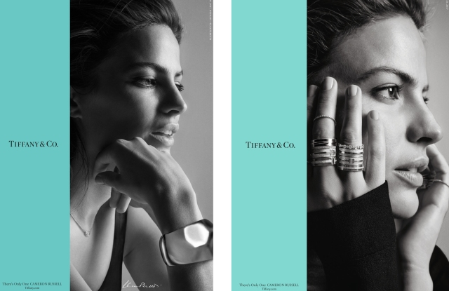 Cameron Russell for Tiffany & Co.