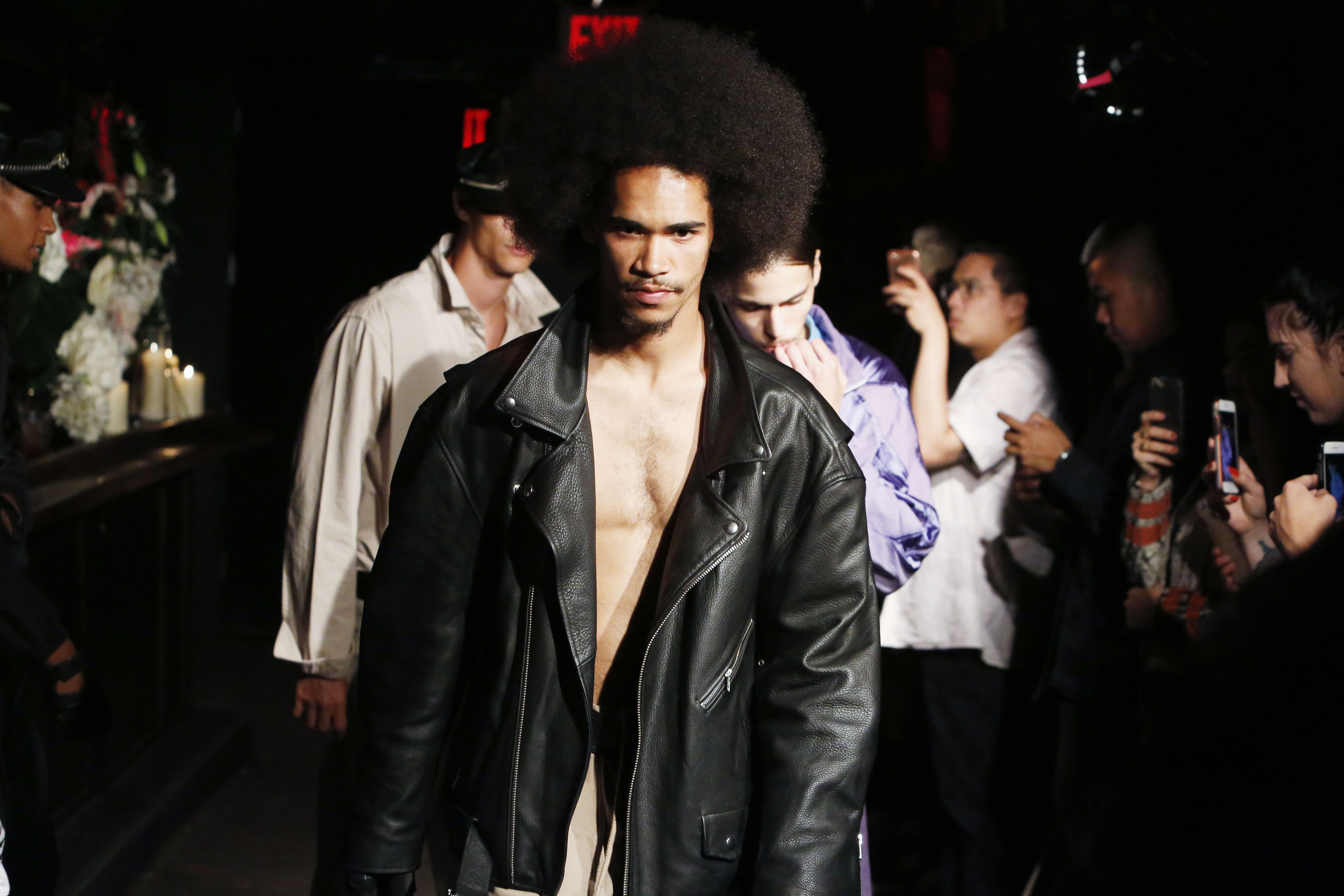 Willy Chavarria Men's Spring 2018
