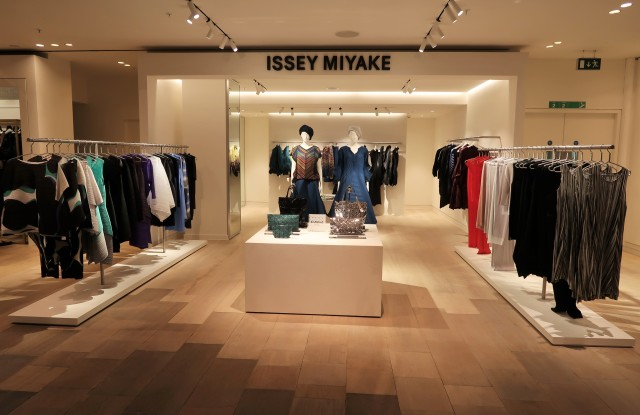 Issey Miyake boutique opening Selfridges London