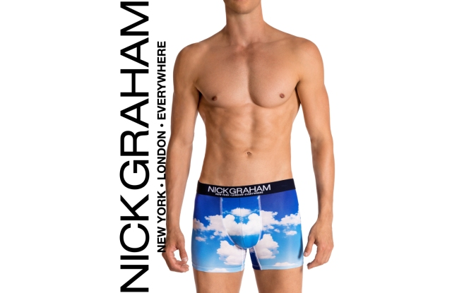 A look from the Nick Graham underwear line.