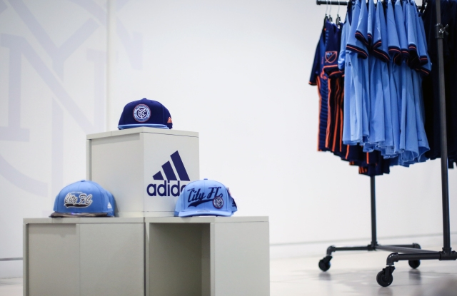 A look inside the NYCFC pop-up.