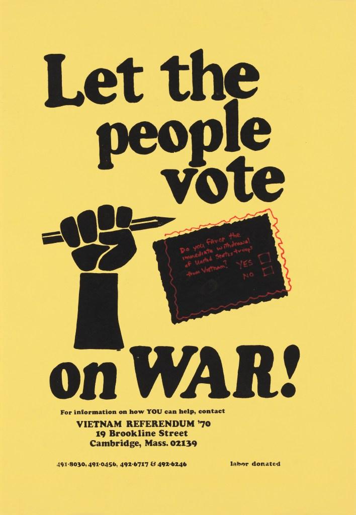 Vietnam Referendum '70