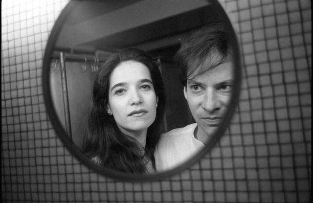 Adam Gopnik and his wife Martha Parker in 1993 at the Maison de Verre in Paris.