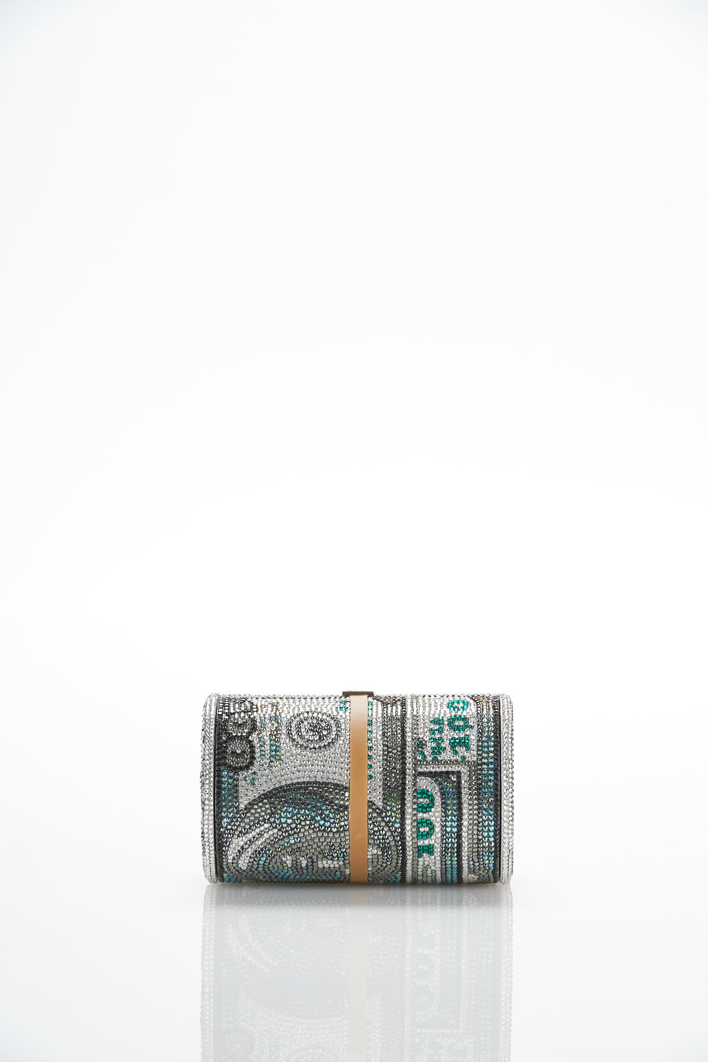 Alexander Wang's limited edition money roll bag by Judith Leiber.