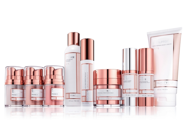 Beauty BioScience's 10-product Core Collection.