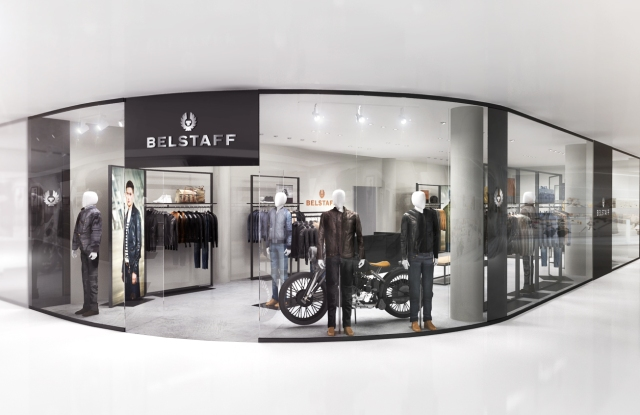 A rendering of the Belstaff store in Toronto