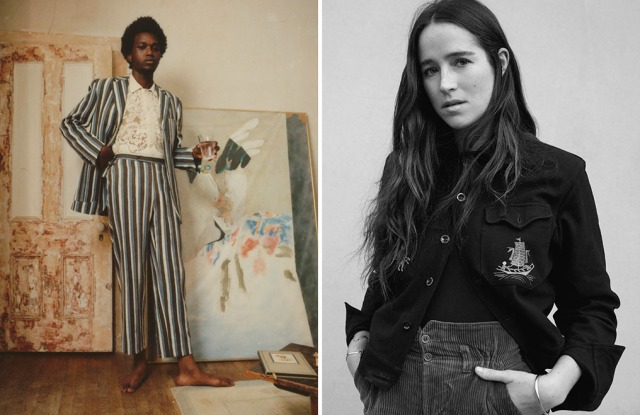 A look from Bode and designer Emily Adams Bode.