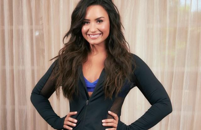 Demi Lovato wears Fabletics