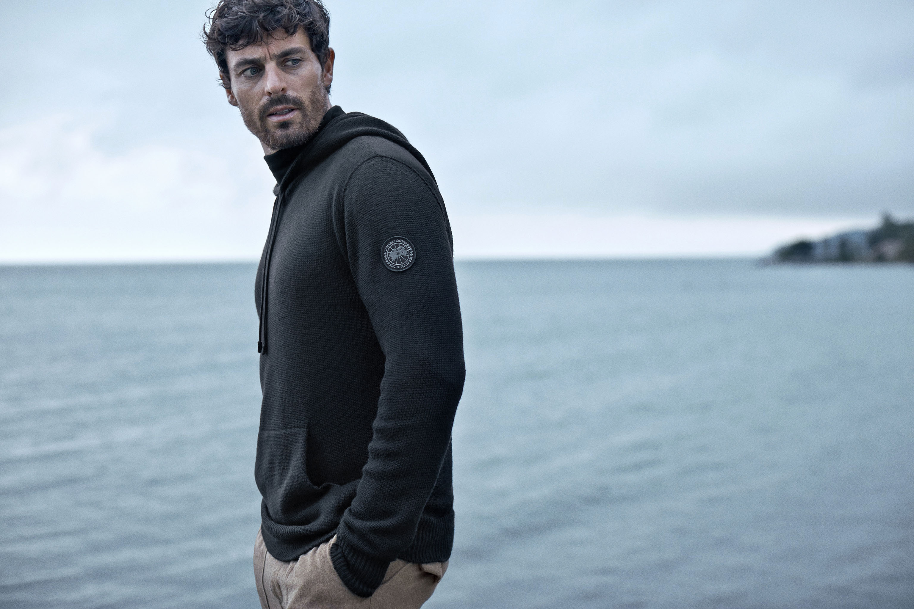 An image of Canada Goose's new knitwear.