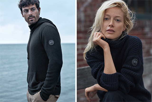 Canada Goose Launches New Knitwear Campaign