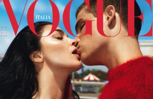 Vogue Italia's September Issue.