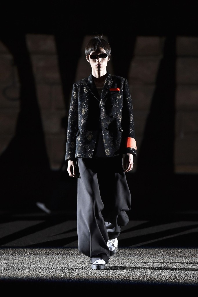 A look from Off-White Men's Spring 2018