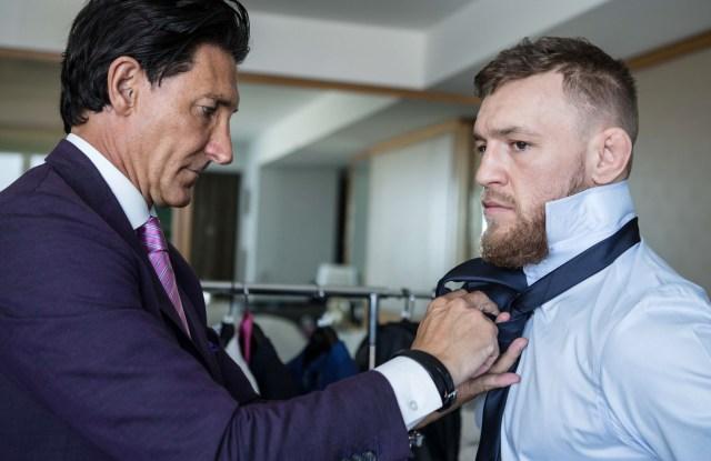 David Heil and Conor McGregor.