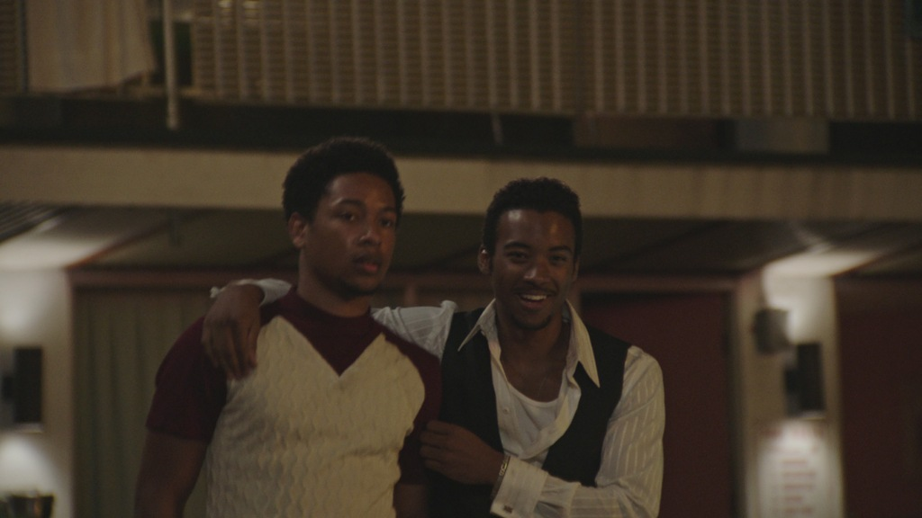 "Jacob Latimore and Algee Smith in ""Detroit"""
