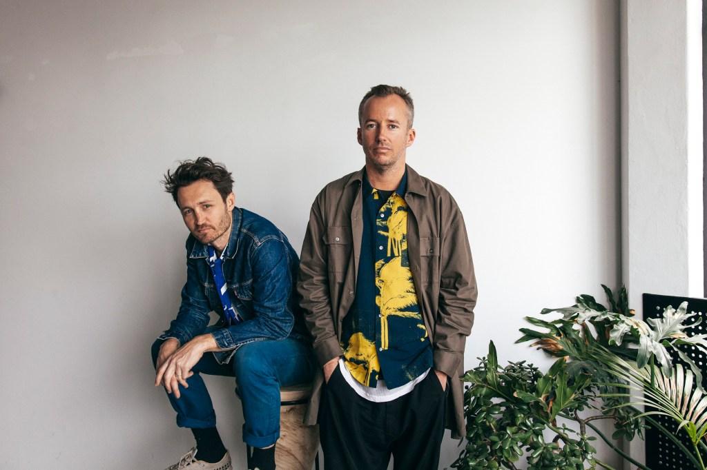 Double Rainbouu founders Toby Jones (left) and Michael Nolan (right).